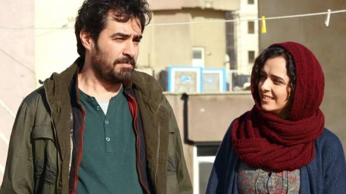 Taraneh Alidoosti (Rana Enesami) en Shahab Hosseini (Emad Enesami)