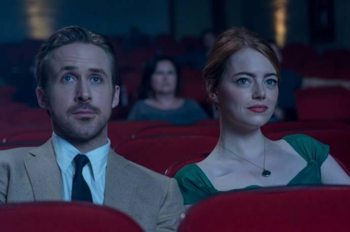 Ryan Gosling (Sebastian) en Emma Stone (Mia)