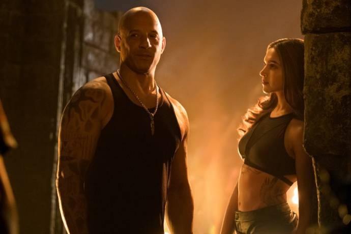 Vin Diesel (Xander Cage) en Deepika Padukone (Serena Unger)