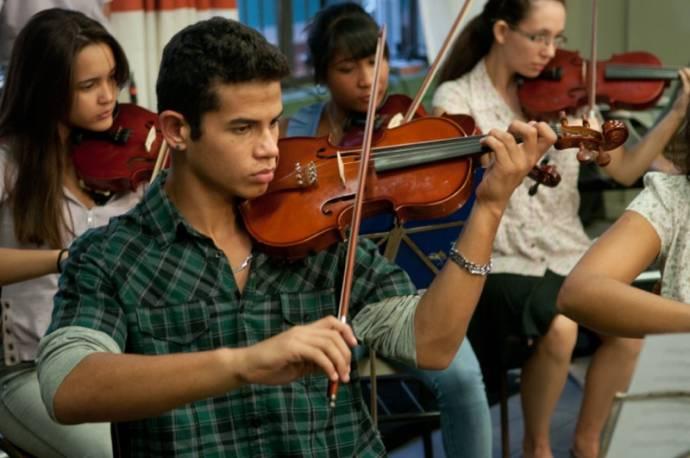 The Violin Teacher filmstill