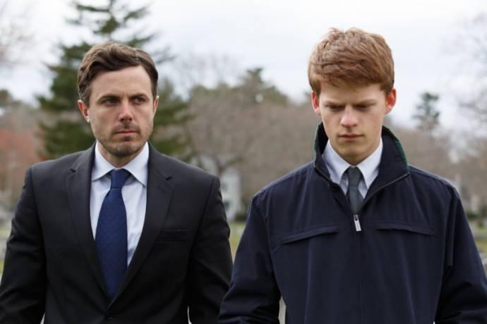 Casey Affleck (Lee Chandler) en Lucas Hedges (Patrick)