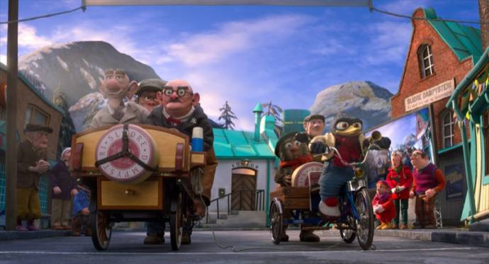 Solan & Ludwig: De Grote Kaasrace (NL) filmstill