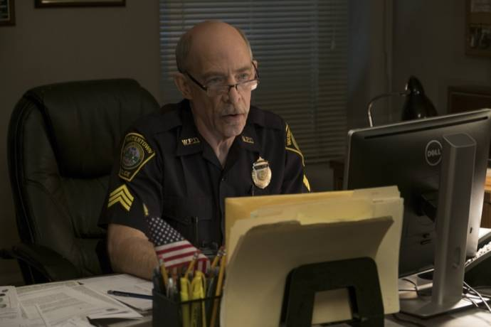 J.K. Simmons (Sergeant Jeffrey Pugliese) in Patriots Day