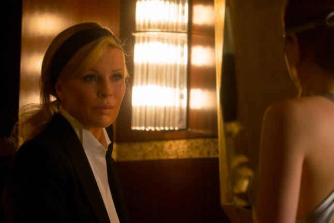 Kim Basinger (Elena Lincoln) in Fifty Shades Darker