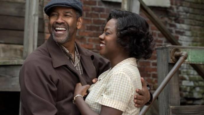 Denzel Washington (Troy) en Viola Davis (Rose)