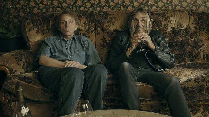 Michel Houellebecq (Zichzelf) en Iggy Pop (Zichzelf) in To Stay Alive: A Method