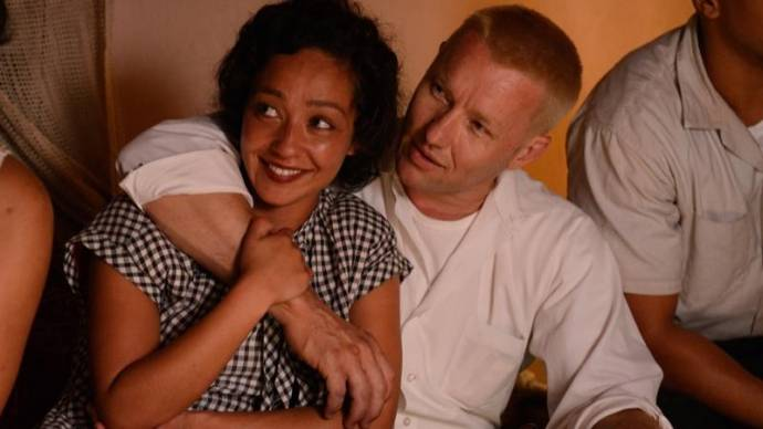 Ruth Negga (Mildred Loving) en Joel Edgerton (Richard Loving)