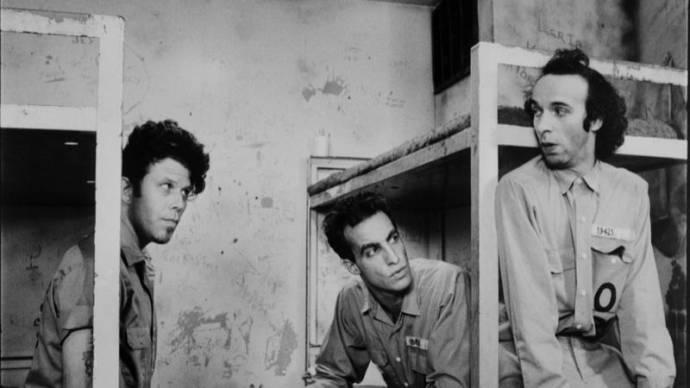 Tom Waits (Zack), John Lurie (Jack) en Roberto Benigni (Roberto)