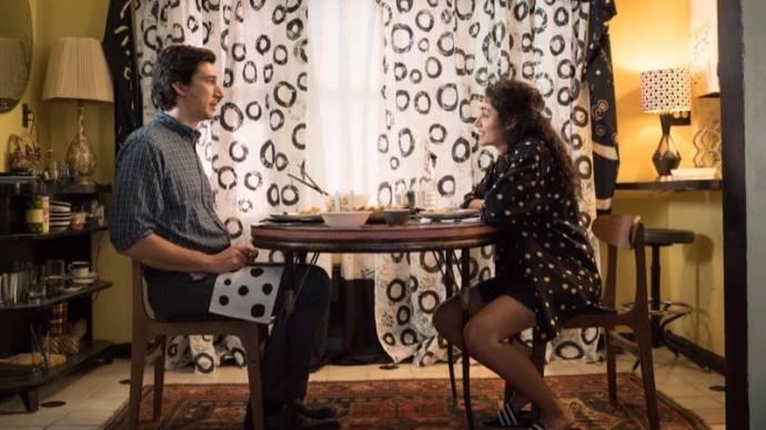 Adam Driver (Paterson) en Golshifteh Farahani (Laura)