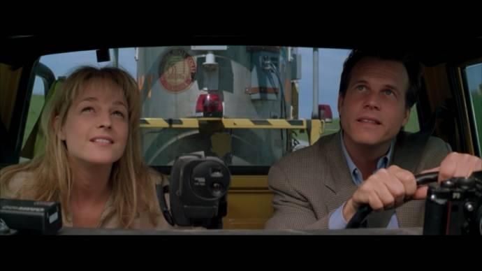 Helen Hunt (Dr. Jo Harding) en Bill Paxton (Bill Harding)