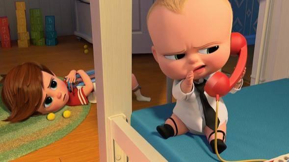 The Boss Baby 3D filmstill