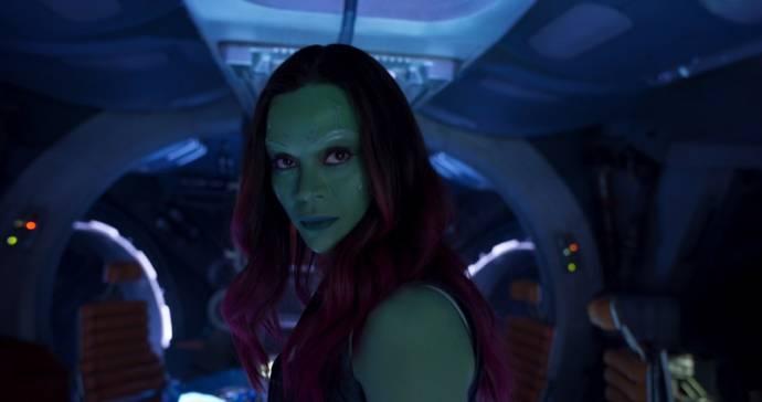 Zoe Saldana (Gamora)