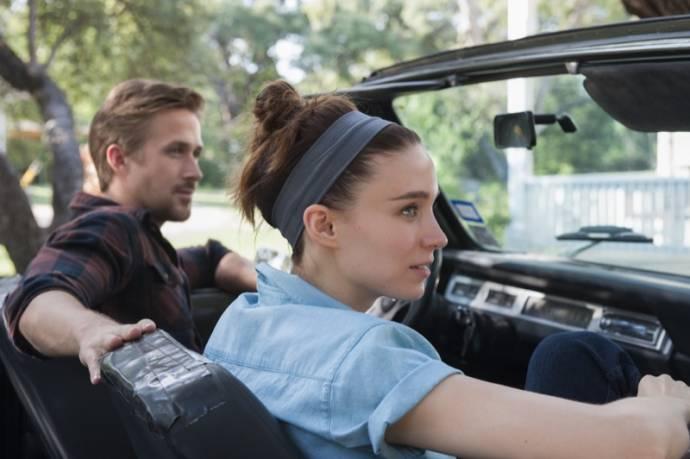 Ryan Gosling (BV) en Rooney Mara (Faye)