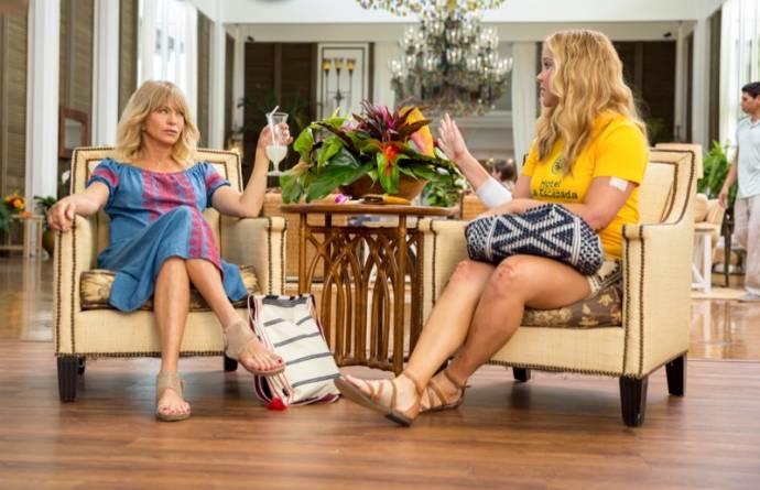 Goldie Hawn en Amy Schumer