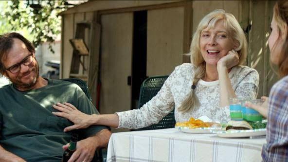 Bill Paxton (Mae's father) en Glenne Headly (Mae's mother)