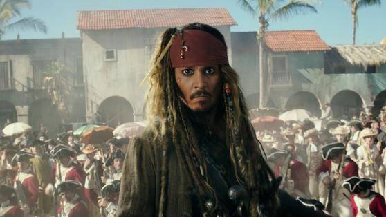 Johnny Depp (Captain Jack Sparrow)