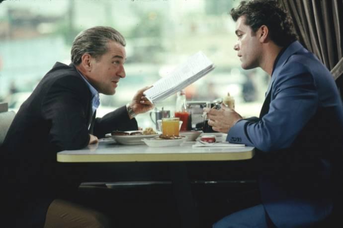 Robert De Niro (Jimmy Conway) en Ray Liotta (Henry Hill)