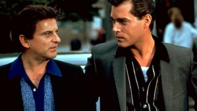Joe Pesci (Tommy DeVito) en Ray Liotta (Henry Hill)