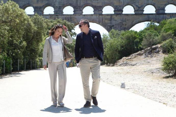 Diane Lane (Anne) en Arnaud Viard (Jacques)