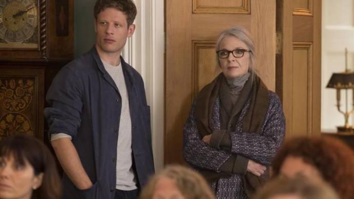 Diane Keaton (Emily Walters) en James Norton (Philip)