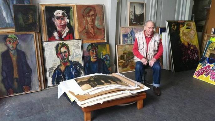Jan Sierhuis Zelfportret filmstill