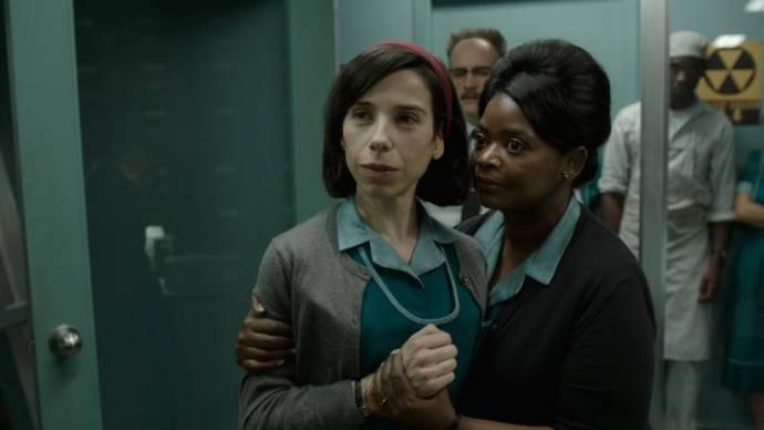 Sally Hawkins (Elisa) en Octavia Spencer (Zelda)