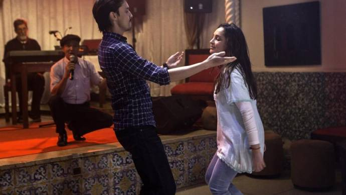 Mehdi Ramdani (Djalil) en Hania Amar (Aicha)