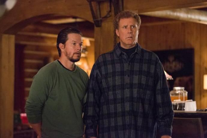 Mark Wahlberg (Dusty Mayron) en Will Ferrell (Brad Whitaker)