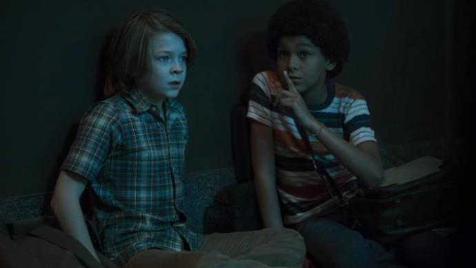 Oakes Fegley (Ben) en Jaden Michael (Jamie)