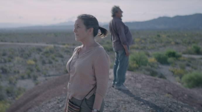Paulina Garcia (Teresa Godoy) en Claudio Rissi ('El Gringo' Julio Alfredo Corvalán)