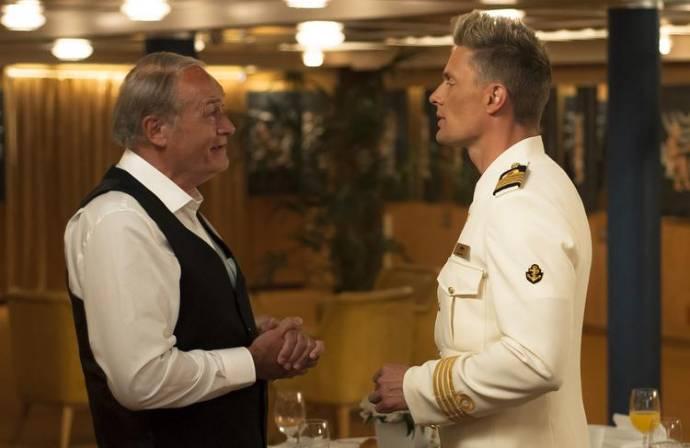 Jacques Vermeire (Marcel) en Winston Post (Bas) in K3 Love Cruise