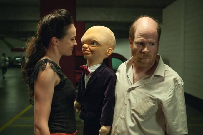 Ellen Parren (Belinda) en Bruno Vanden Broucke (Gerard de Groot)