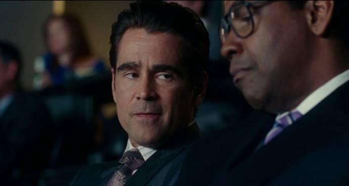 Colin Farrell en Denzel Washington (Roman J. Israel)