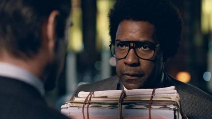 Denzel Washington (Roman J. Israel) en Colin Farrell