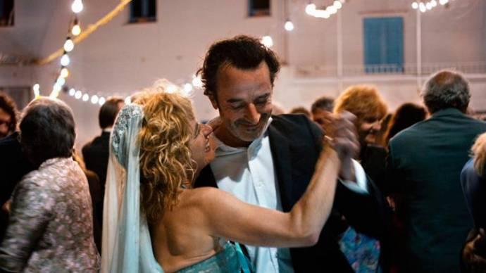 Linda Olsansky (Francesca) en Bruno Todeschini (Ivan) in 7 Giorni