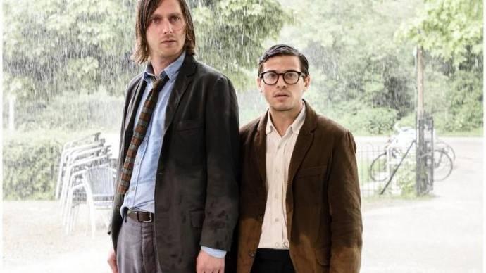 Reinout Scholten van Aschat (Mees) en Geza Weisz (Boelie)