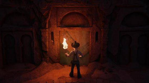 Tad the Lost Explorer and the Secret of King Midas filmstill