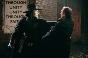 Hugo Weaving in V for Vendetta