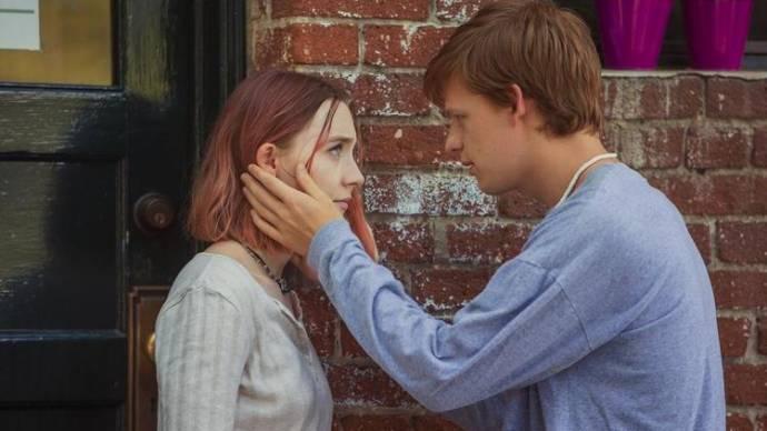 Saoirse Ronan (Christine 'Lady Bird' McPherson) en Lucas Hedges (Danny)