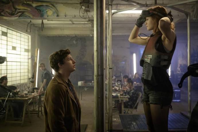 Tye Sheridan (Wade Owen Watts / Parzival) en Olivia Cooke (Samantha Evelyn Cook / Art3mis)