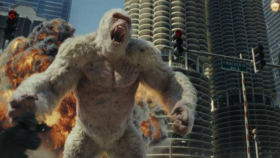 Rampage: Big Meets Bigger filmstill
