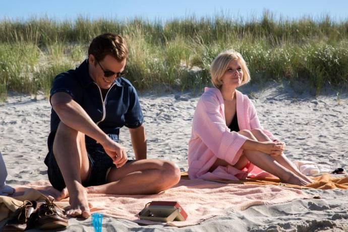 Jason Clarke (Ted Kennedy) en Kate Mara (Mary Jo Kopechne)