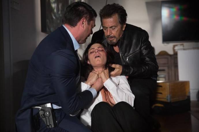Karl Urban (Detective Ruiney) en Al Pacino (Detective Archer)