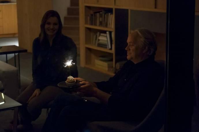Geena Davis (Tess) en Tim Robbins (Jon)