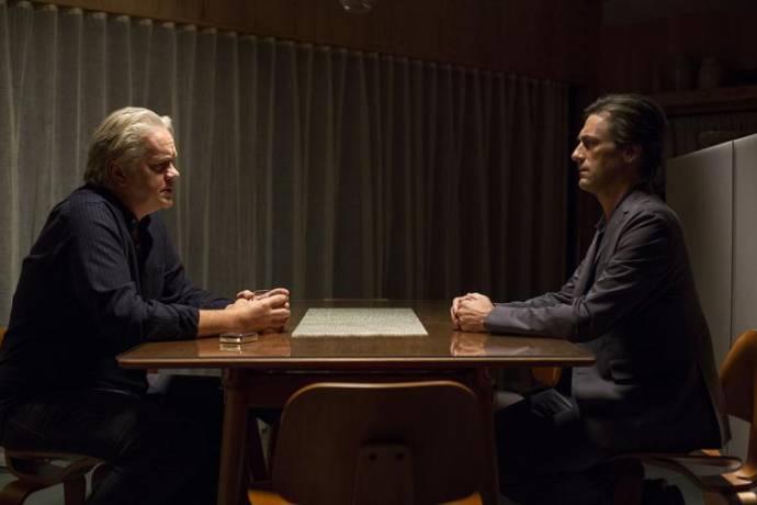 Tim Robbins (Jon) en Jon Hamm (Walter)
