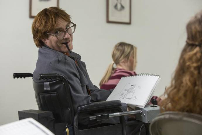 Joaquin Phoenix (John Callahan)