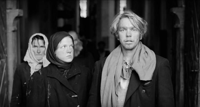 Rea Lest (Liina) en Jörgen Liik (Hans)