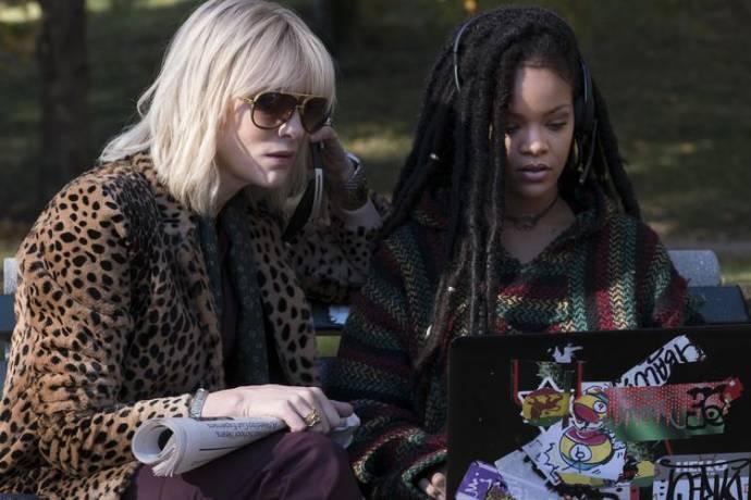 Cate Blanchett (Lou) en Rihanna (Nine Ball)