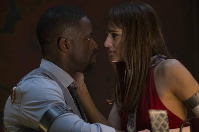 Sterling K. Brown en Sofia Boutella