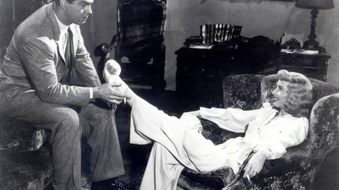 Fred MacMurray (Walter Neff) en Barbara Stanwyck (Phyllis Dietrichson)